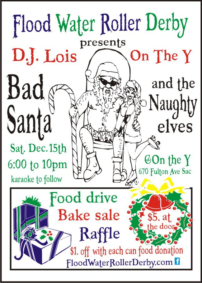 Bad Santa and Naughty Elves at On The Y December 15th!